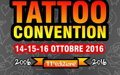 Genova tattoo Convention – 14-16 ottobre 2016