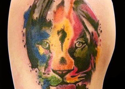 Watercolor_lion_tattoo